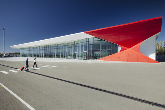 Kutaisi 'King David the Builder' International Airport / UNStudio