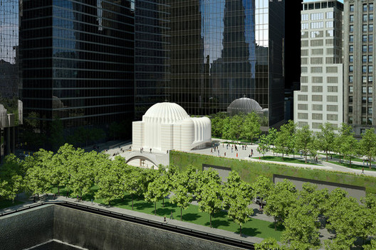 Calatrava Reveals Design for Church on 9/11 Memorial Site, Courtesy of Tribeca Citizen