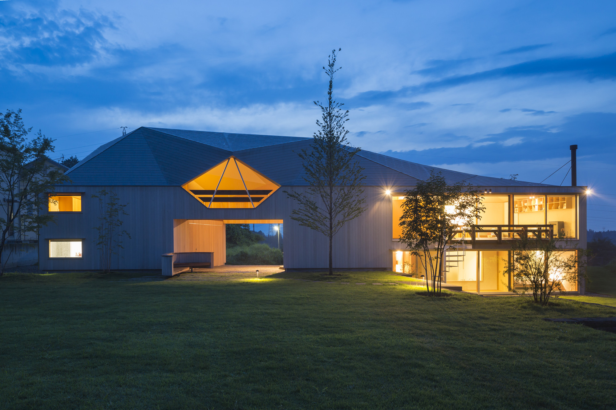 Hayasaka House / Ken Yokogawa Architect & Associates, © Shinkenchiku-sha Co