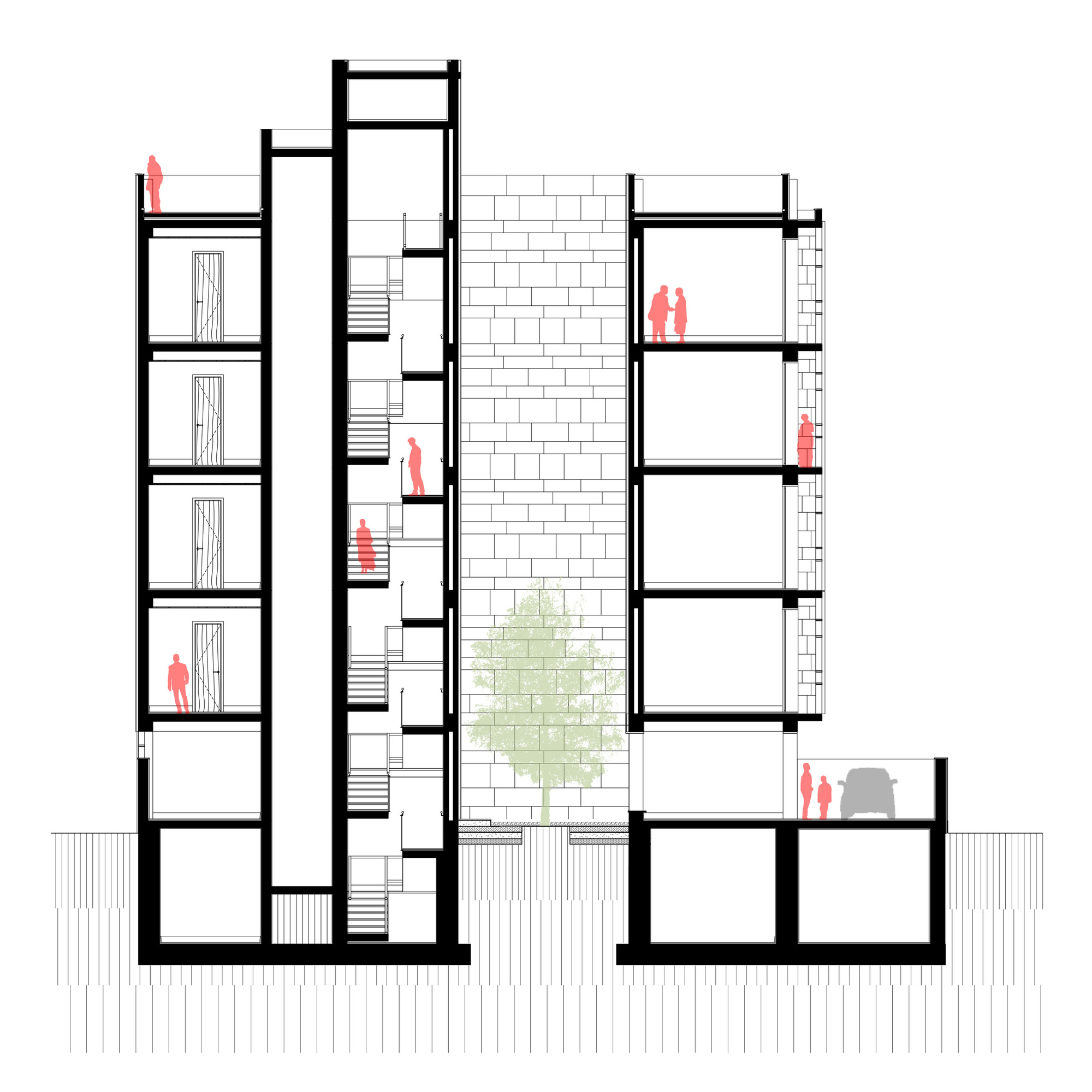 Section 8 Apartments For Rent: Gallery Of Saxena Apartments / Vir.Mueller Architects
