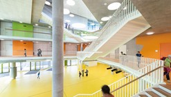 The New Ergolding Secondary School / Behnisch Architekten + Architekturbüro Leinhäupl + Neuber