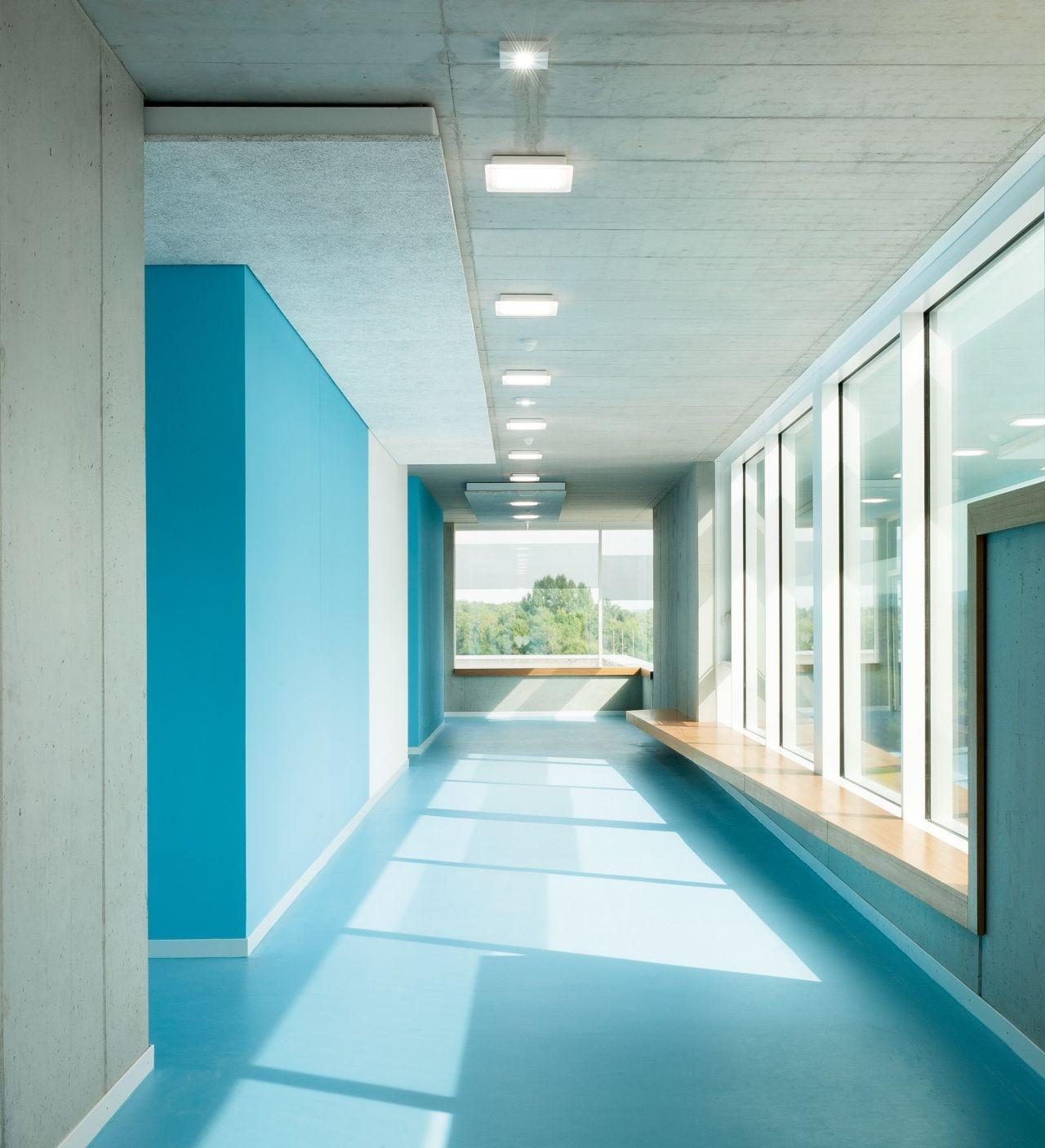School Interior Design: Gallery Of The New Ergolding Secondary School / Behnisch