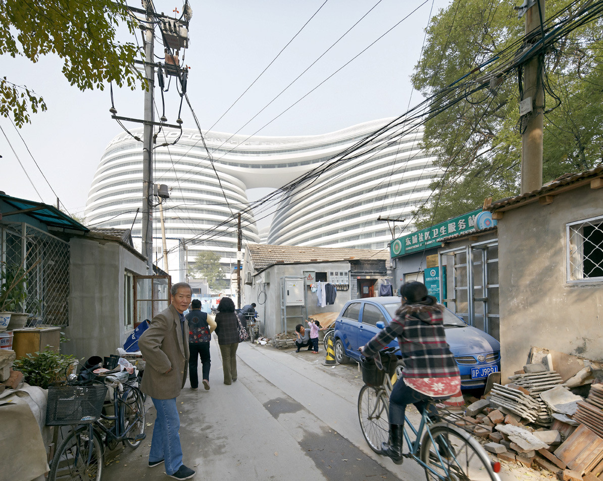 Can We Please Stop Bashing Architects?, Megalomania? Hadid's Galaxy Soho Building has been criticized for destroying Beijing's cultural heritage and displacing its residents. Image © Hufton + Crow