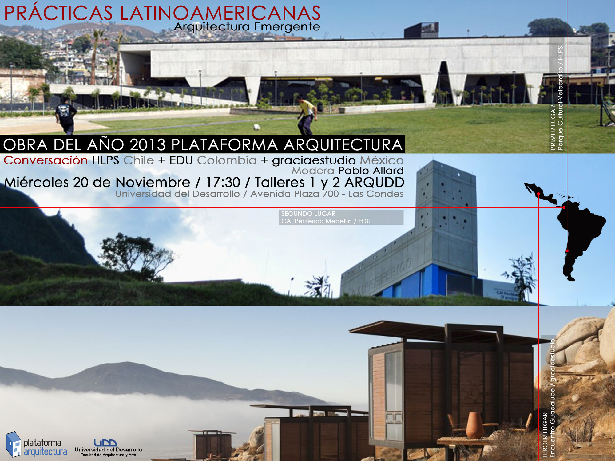 Prácticas Latinoamericanas, Arquitectura Emergente