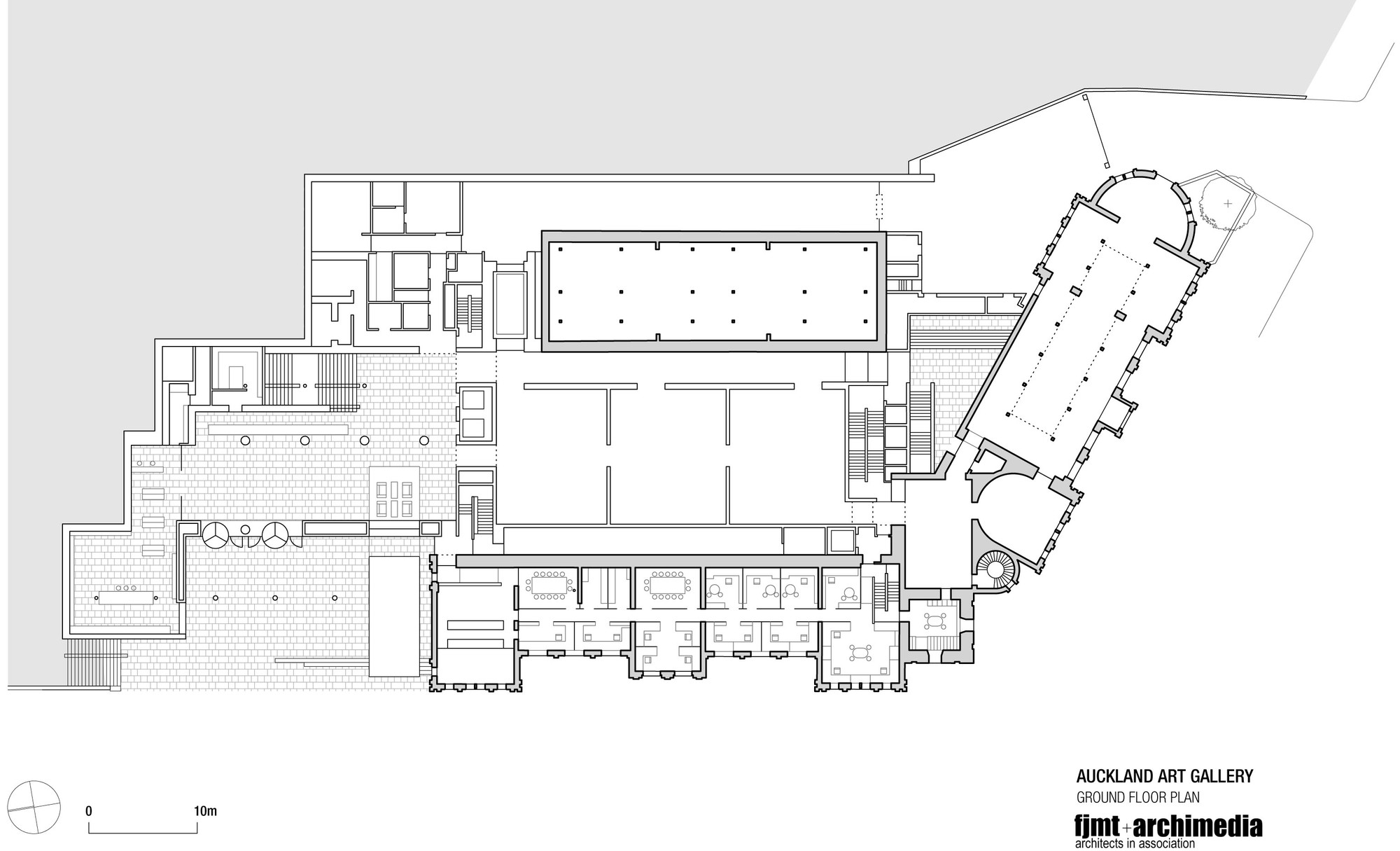 gallery architecture plan - photo #6
