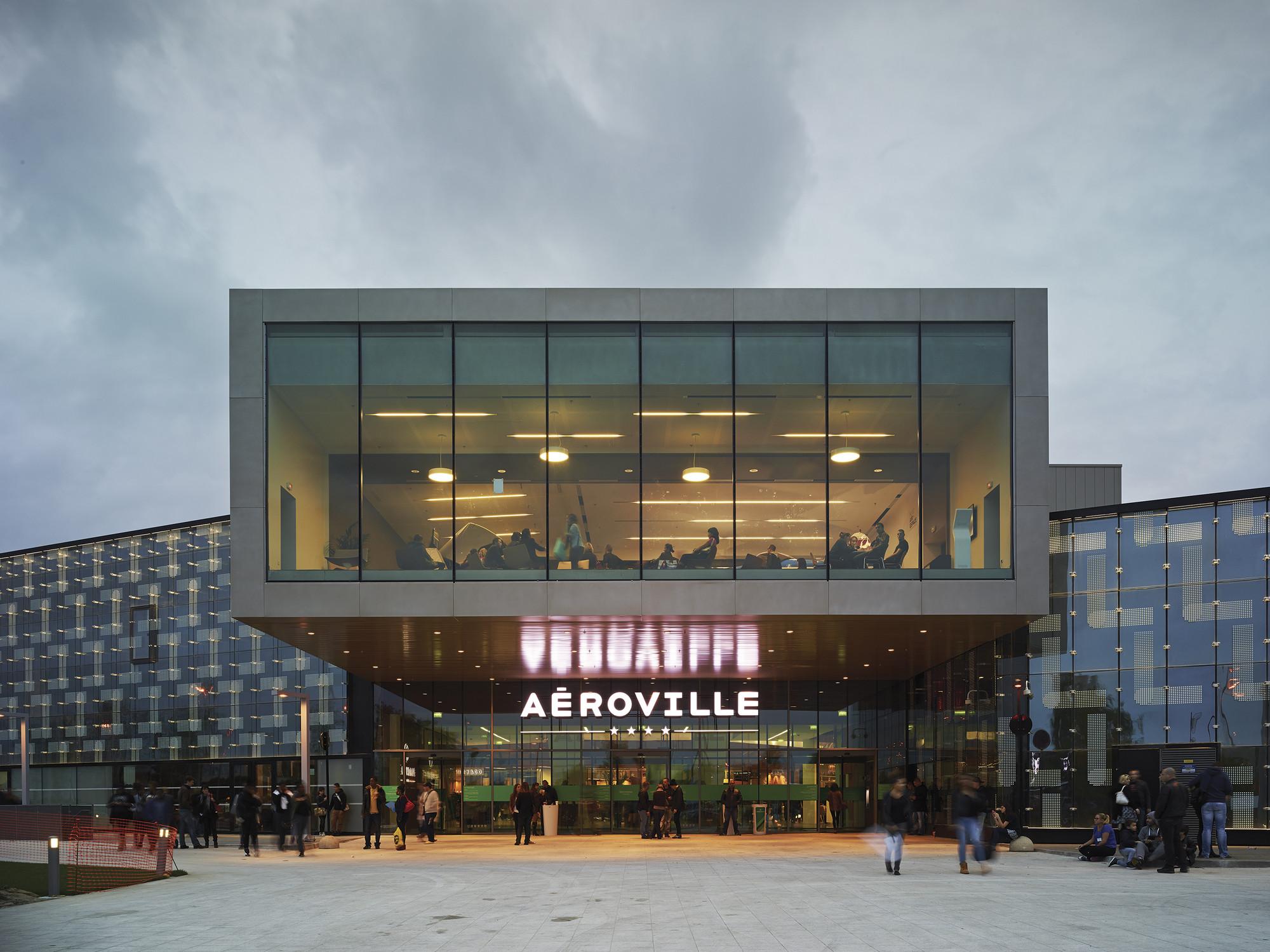 Aeroville / Philippe Chiambaretta, © Jean-Phileppe Mesguen