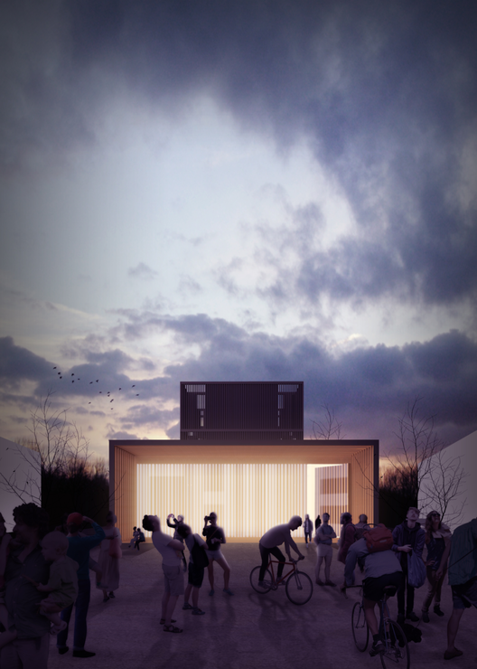 Propuestas premiadas para el diseño del Pabellón de Chile en la Expo Milán 2015, Courtesy of Equipo Tidy + Grallert + Riffo