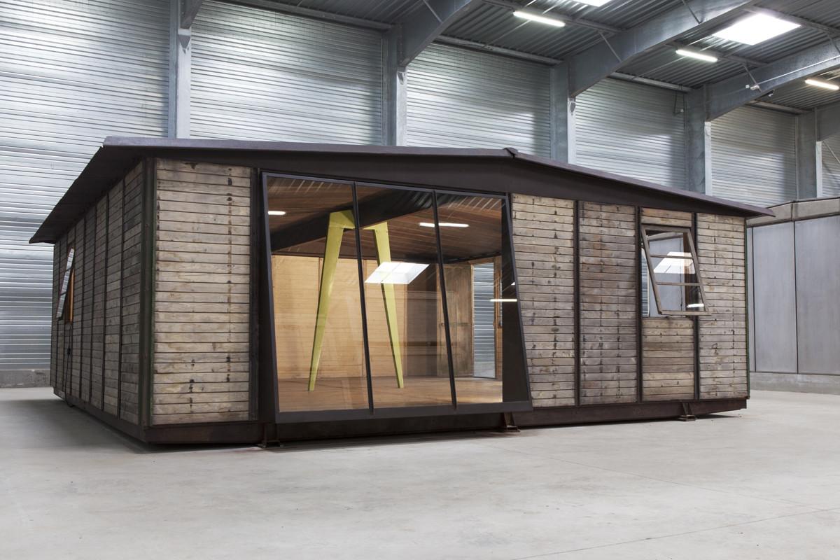 La Casa Desmontable 8x8 de Jean Prouvé se podrá visitar por primera vez en la Galerie Patrick Seguin