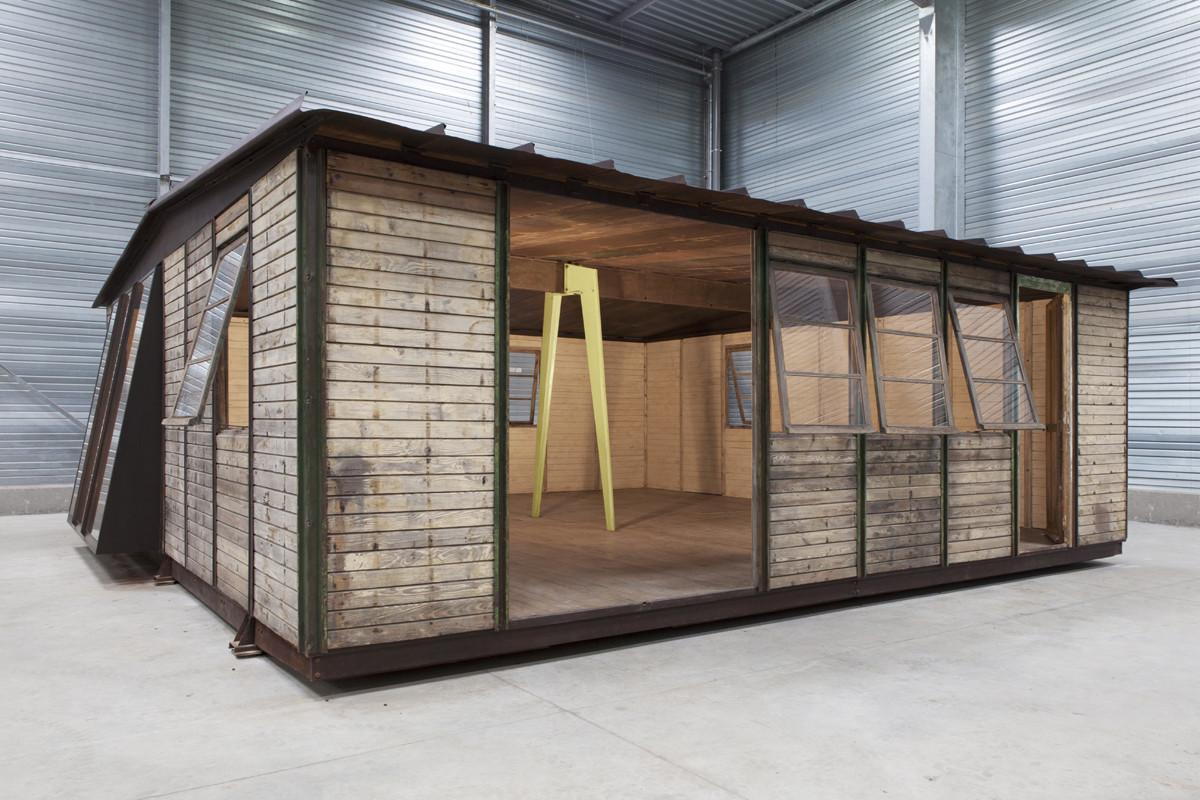 La casa desmontable 8x8 de jean prouv se podr visitar por primera vez en la galerie patrick House jeansy