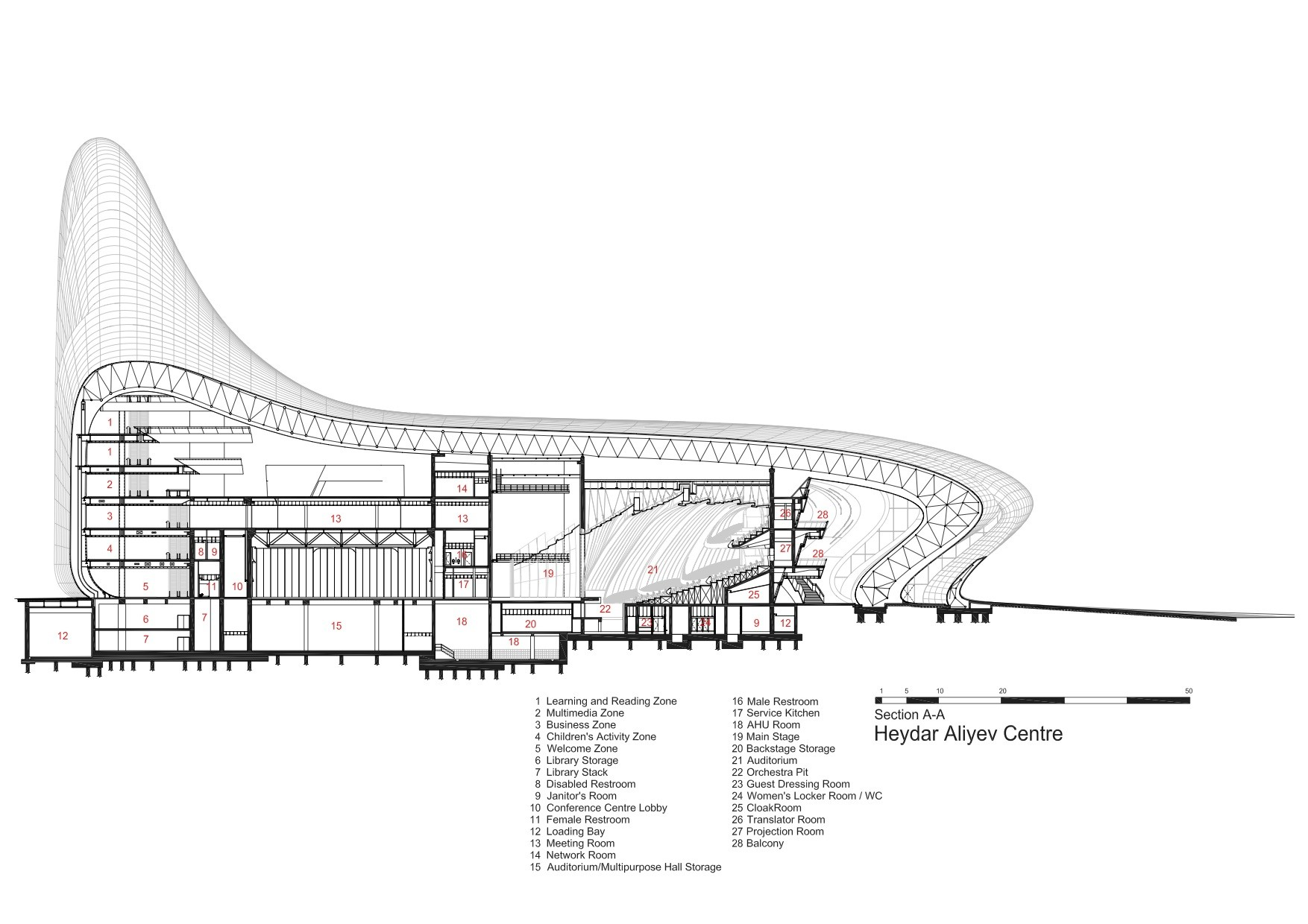 Gallery Of Heydar Aliyev Center Zaha Hadid Architects 49