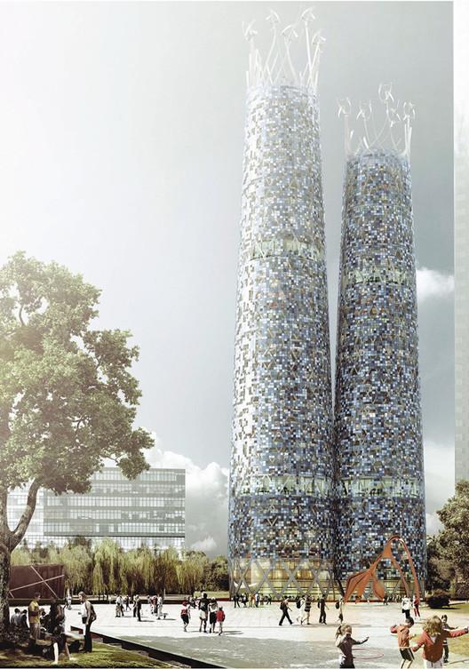 Mario Cucinella Architects. Image Courtesy of Parramatta City Council