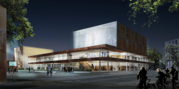 Schmidt Hammer Lassen vence competição para projetar o Teatro Vendsyssel, na Dinamarca, Courtesy of Schmidt Hammer Lassen Architects