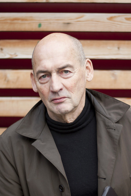 Em foco: Rem Koolhaas, Cortesia de Strelka Institute for Media, Architecture, and Design, via Flickr