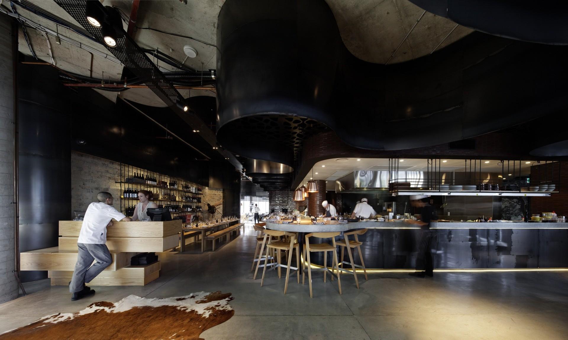 Pony Restaurant / Woods Bagot, © Trevor Mein
