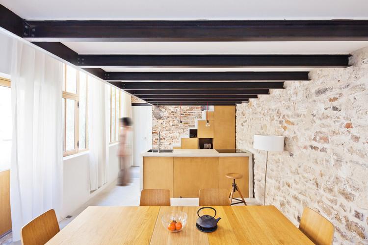 Transformación de un Atelier en Loft / NZI Architectes, © Juane Sepulveda
