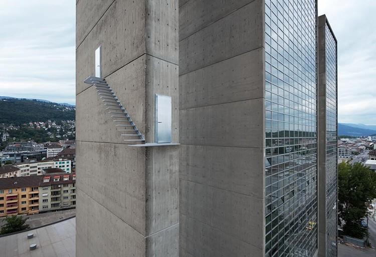 Arte e Arquitetura: escadas que interrompem a realidade, © Vía Lang Baumann
