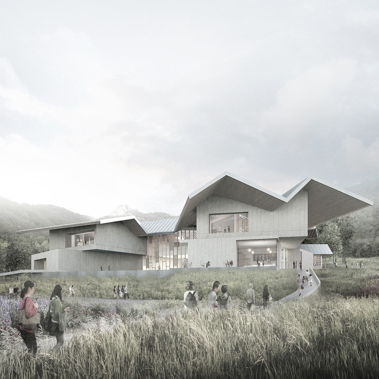 Winning Entry for New Pottery Museum in South Korea / PWFERRETTO + UTOP, Courtesy of PWFERRETTO