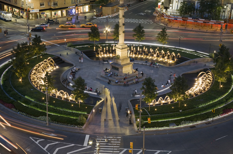 Long Island Circle In Central Park