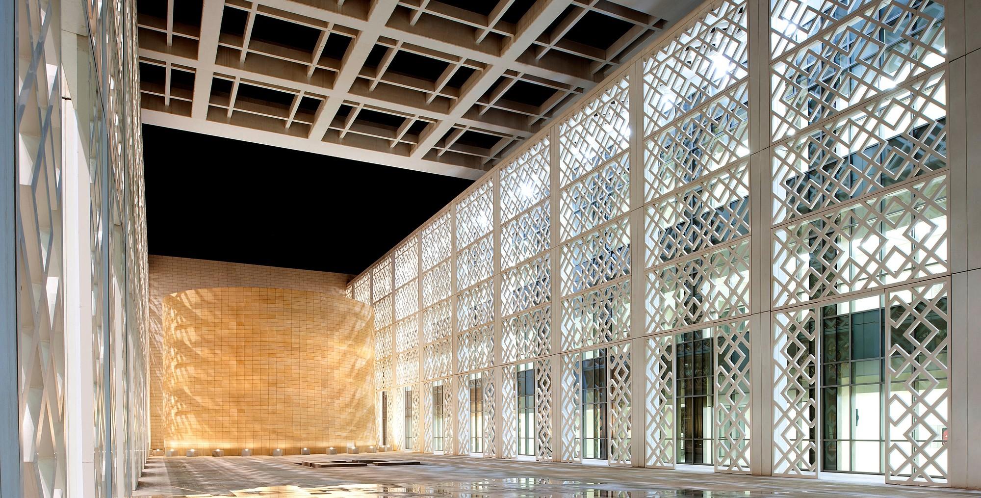 Gallery of princess nora bint abdulrahman university for Modern arabic house architecture