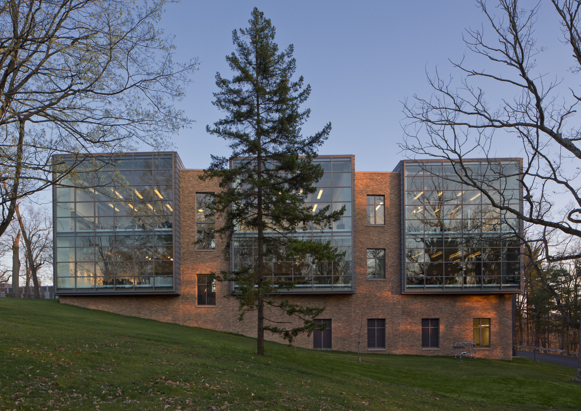 Horvitz Hall Gund Partnership Archdaily