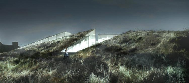 BIG iniciará a construção do Museu Blåvand Bunker, Blåvand Bunker Museum. Image © BIG