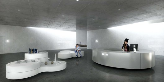 Interior Central. Image Courtesy of BIG