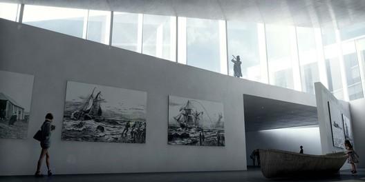 History Museum. Image Courtesy of BIG