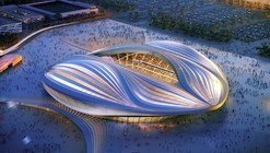 Zaha Hadid's 2022 Qatar World Cup Stadium Unveiled