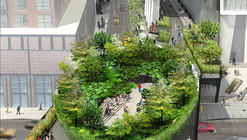 """Immersive Bowl-Shaped Structure"" Proposed to be High Line's Final Gateway"