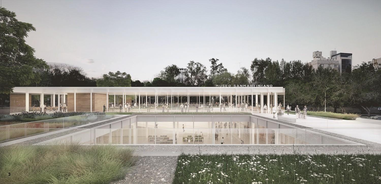 Segundo Lugar  Concurso nacional de anteproyectos para el Museo Sanmartiniano de Mendoza, Courtesy of Equipo Segundo Lugar