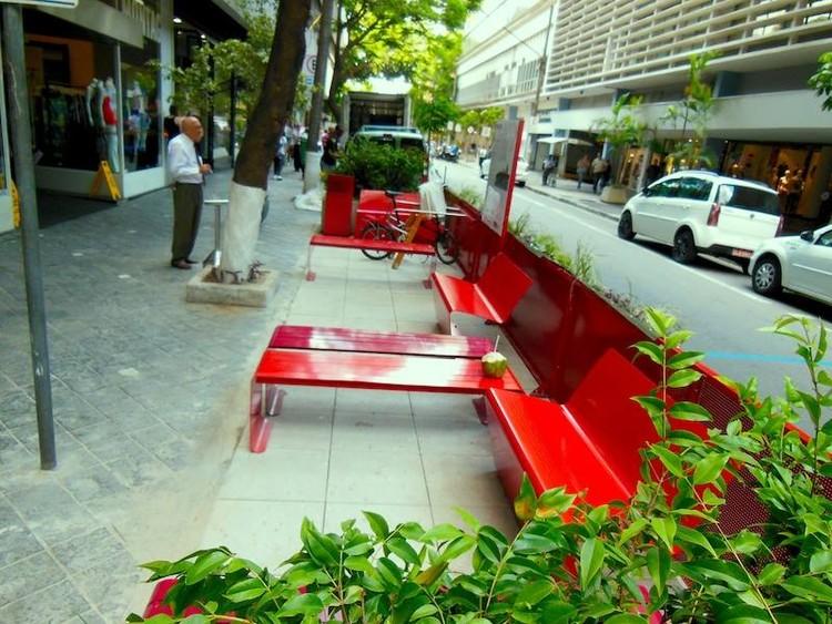 """Zonas Verdes """"Parklet"""" – a reinvenção do espaço público, Cortesia de X Bienal de Arquitetura de São Paulo"""