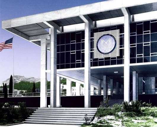 Ann Beha Architects Selected To Rehabilitate US Embassy In - Us embassy athens map