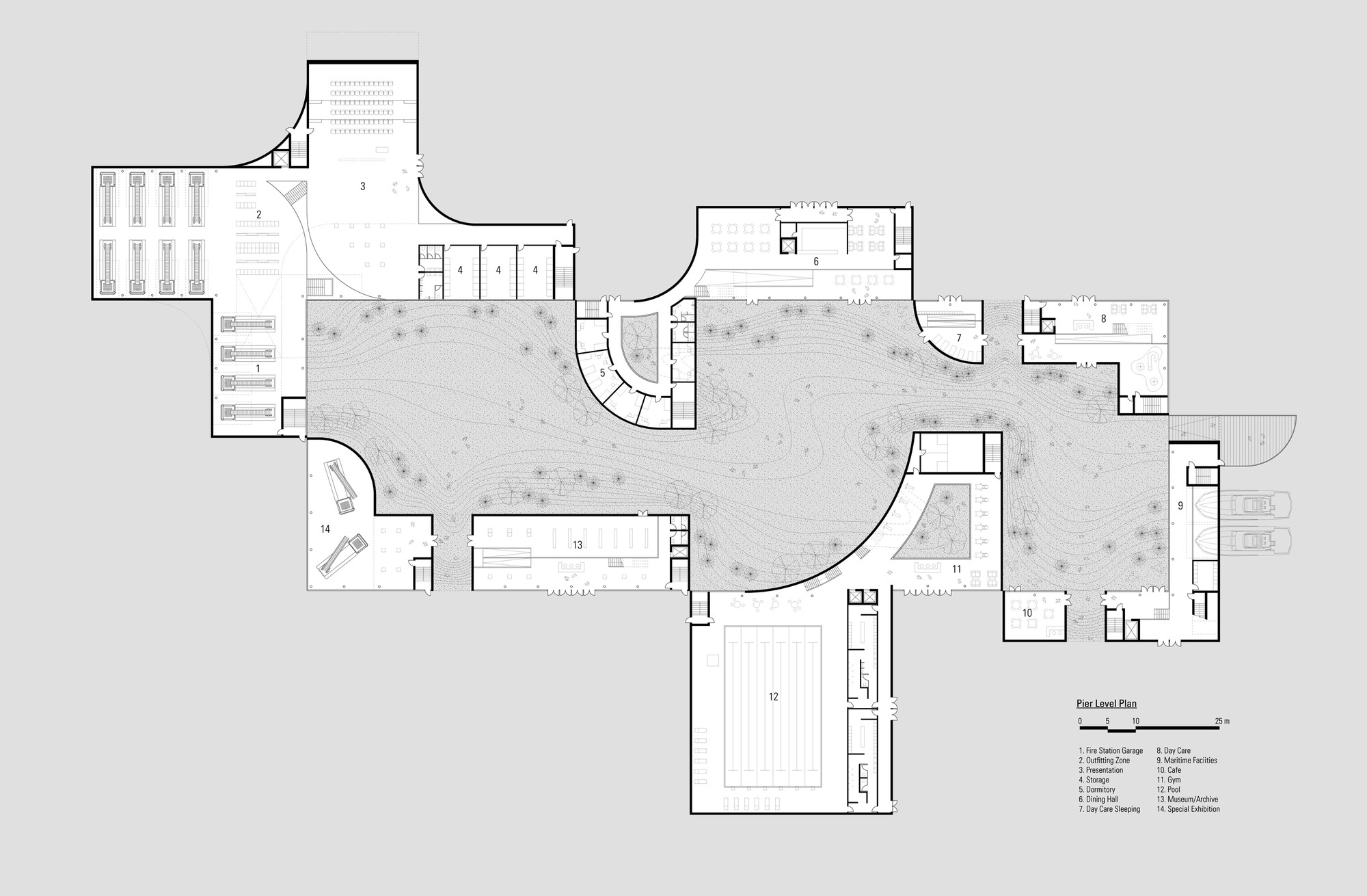 Vitra Fire Station Floor Plan Gallery Of San Francisco Fire Department Headquarters