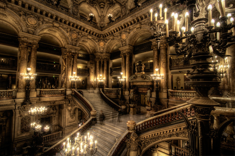 Réquiem pelas escadas / Oscar Tusquets, Ópera Garnier de Paris. Image © Flickr Mari Wirta (CC AT NC ND)