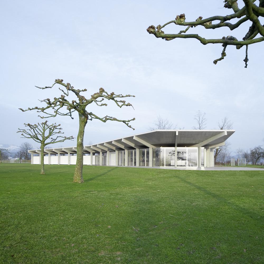 Stampf Swimming Facility / Michael Meier Marius Hug Architekten, © Roman Keller