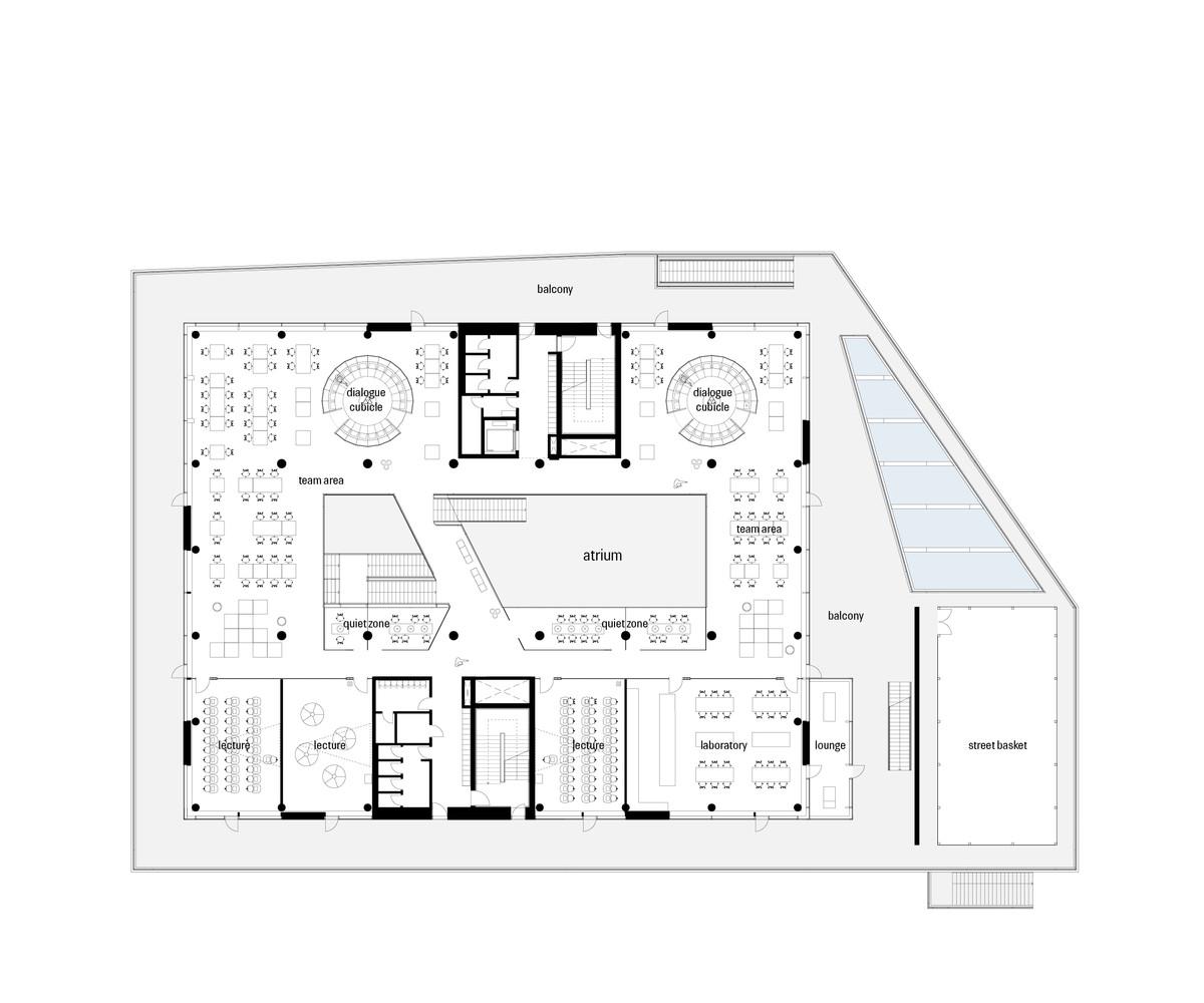 VUC SydFirst Floor Plan