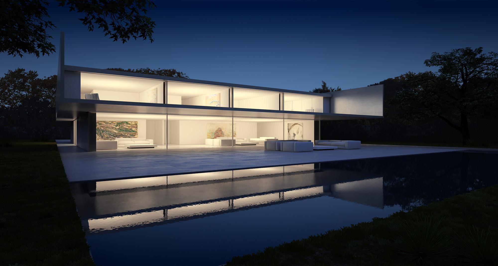Galer a de en construcci n casa de aluminio fran - Fran silvestre arquitectos ...
