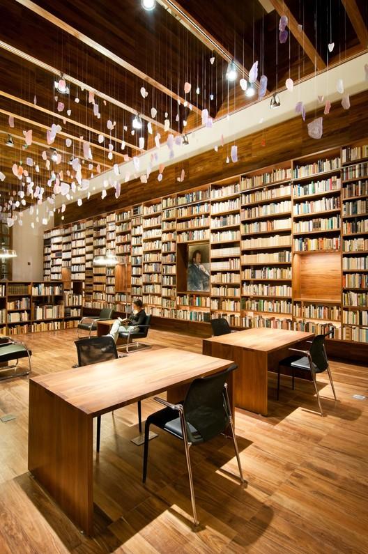 Jaime Garcia Terres Library / arquitectura 911sc, © Moritz Bernoully