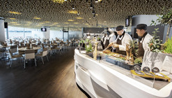 Club de Negocios en el Allianz Arena / CBA Clemens Bachmann Architekten