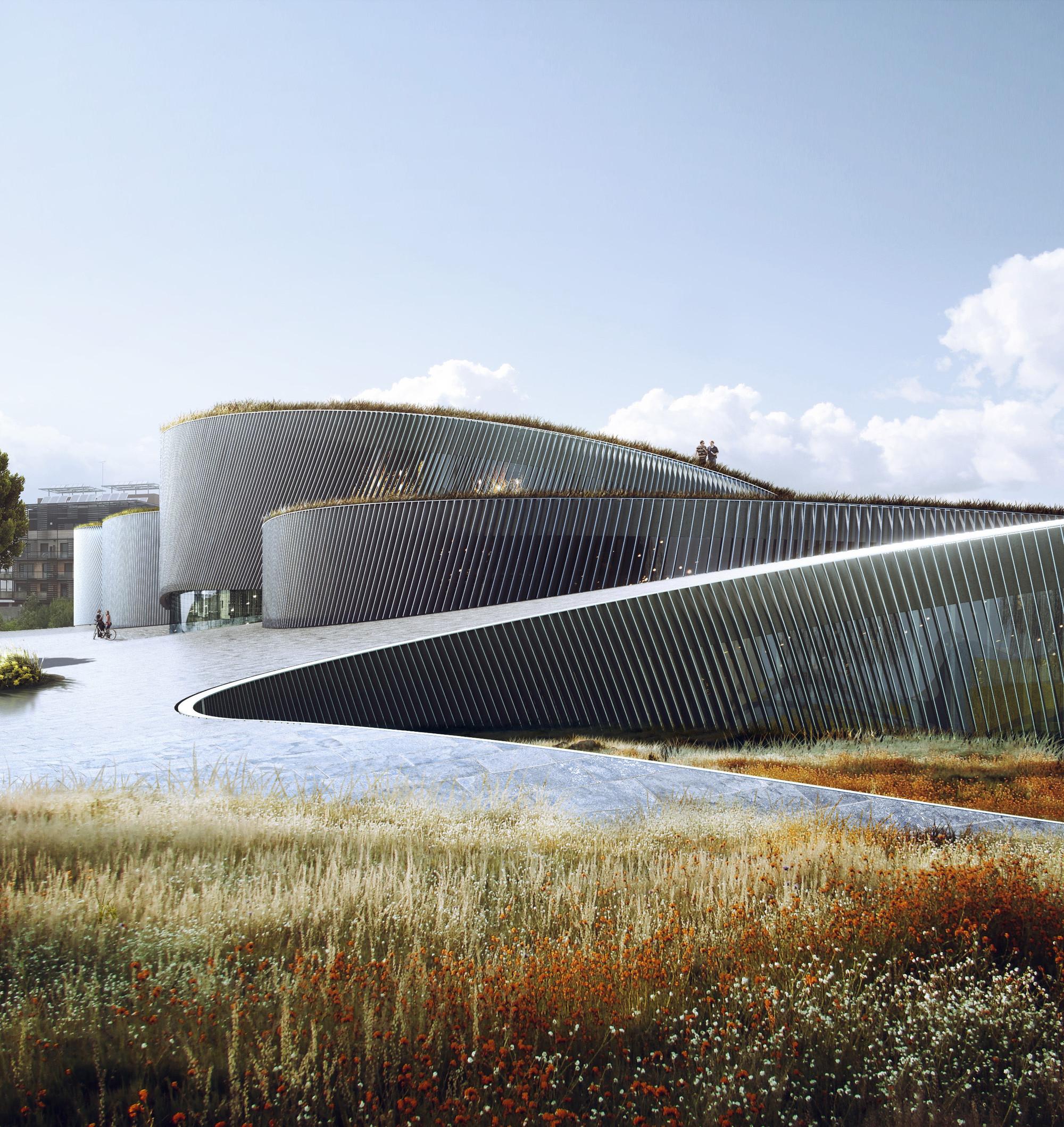BIG Seleccionado para diseñar el Museo del Cuerpo Humano en Francia
