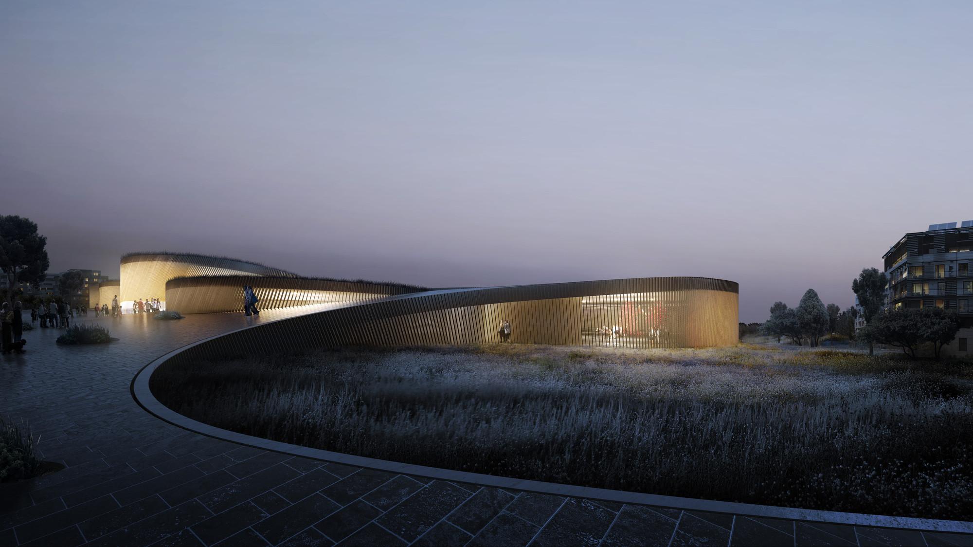 BIG Seleccionado para diseñar el Museo del Cuerpo Humano en Francia, Courtesy of BIG