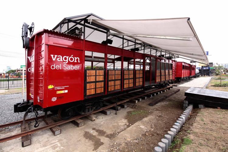 Vagón del Saber / Al Borde, © Cyril Nottelet