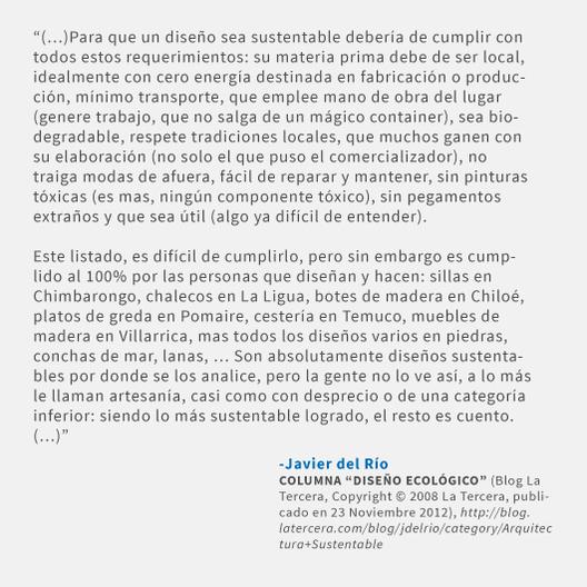 Frases: Javier del Río