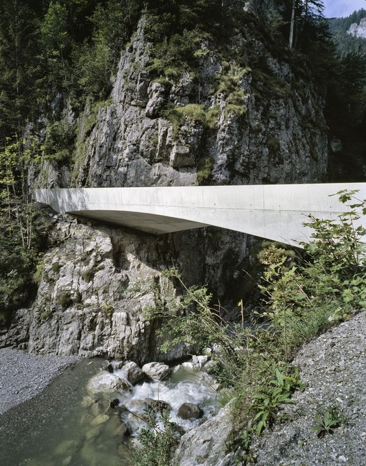 Schanerloch Bridge / Marte.Marte Architects, ©  Marc Lins