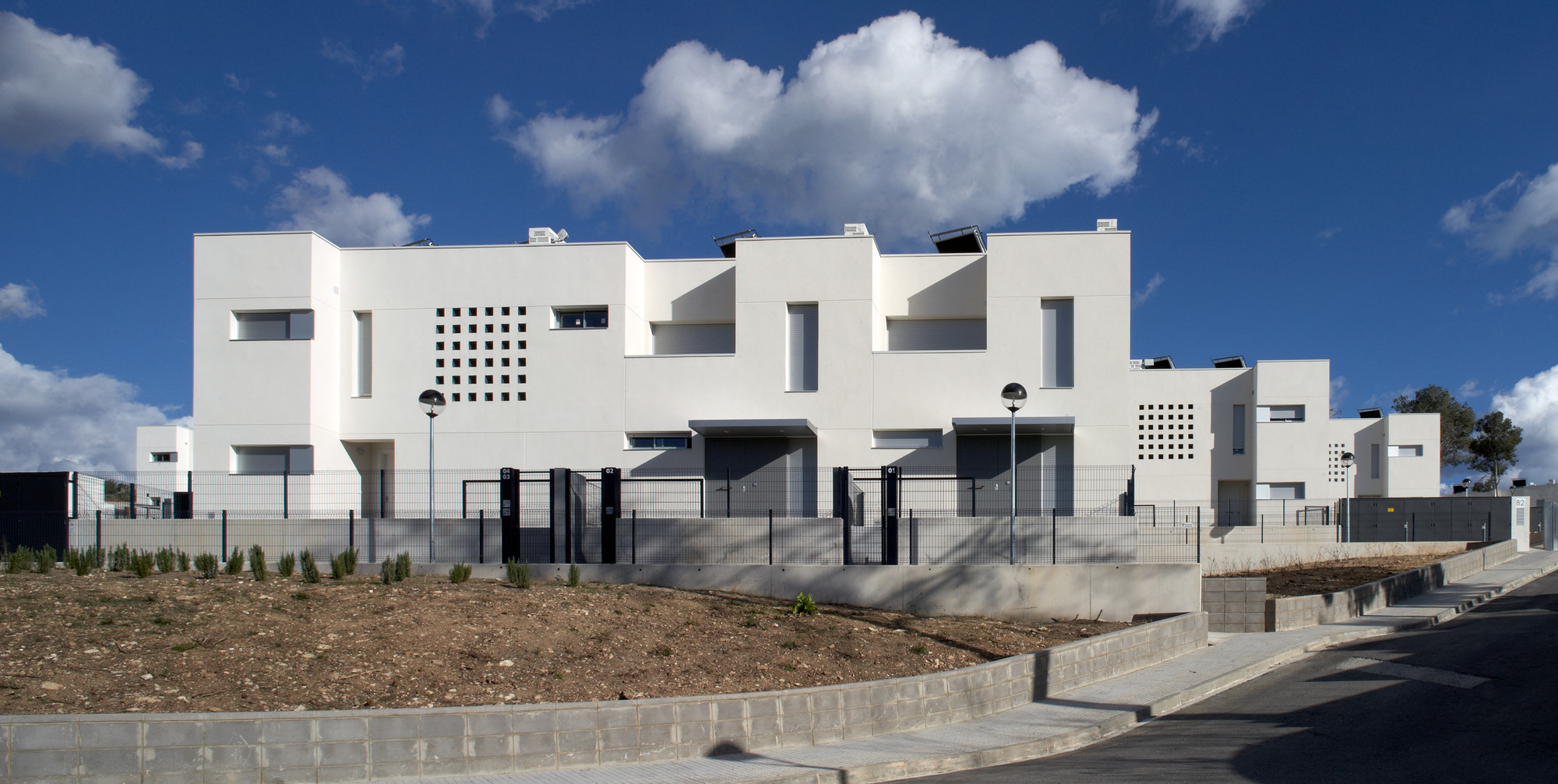 52 Social Housing in Tarragona  / aguilera|guerrero architects, © Pepo Segura