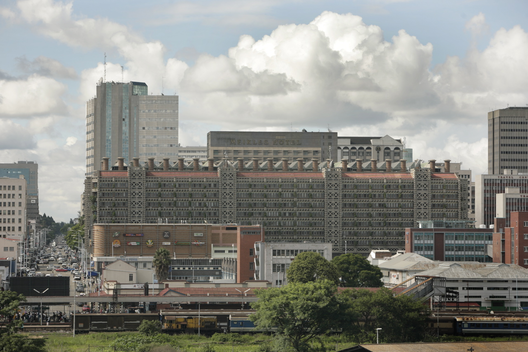 Eastgate Centre / Mick Pearce. Image © David Brazier