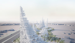 "Sou Fujimoto Proposes ""Mirage-Like"" Landmark for Middle East"