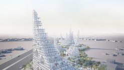 Sou Fujimoto propõe masterplan para cidade no Oriente Médio