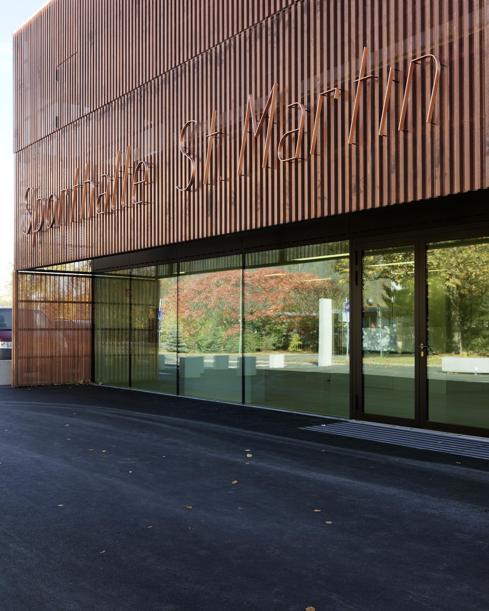 Gallery Of Sports Hall St Martin Dietger Wissounig