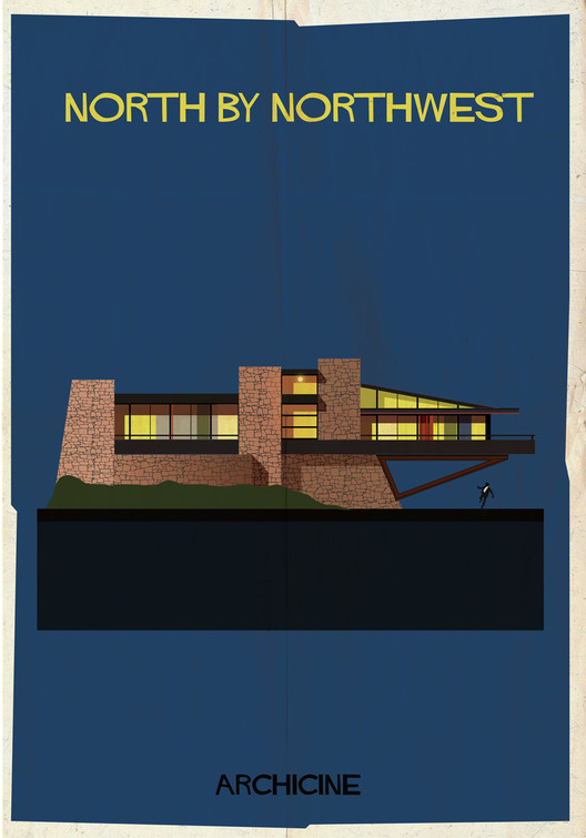 North by Northwest. Directed by Alfred Hitchcock. Image Courtesy of Federico Babina